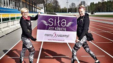 Ola Sulej-Dąbrowska i Ilona Brusiło