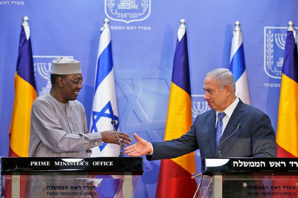 Idriss Deby i  Benjamin Netanyahu, 25.11.2018