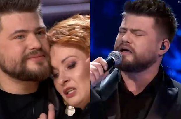 Marcin Sójka w finale 'The Voice of Poland'