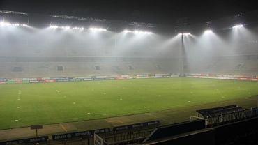 Tak wygląda stadion Górnika z nowym oświetleniem