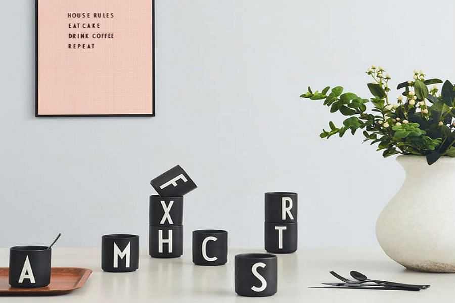Design Letters, naczynia