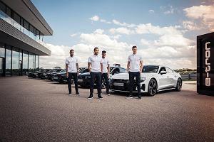 Piłkarze Bayernu Monachium otrzymali nowe auta. Elektryczna ofensywa Audi