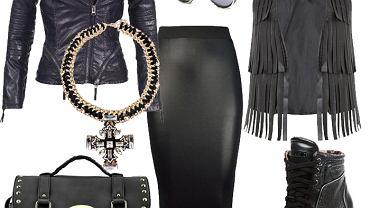 Ubrania i dodatki w rockowym stylu