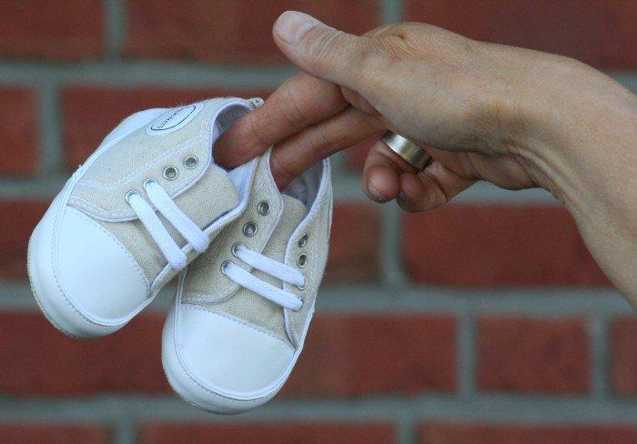 Pierwsze buty niemowlaka