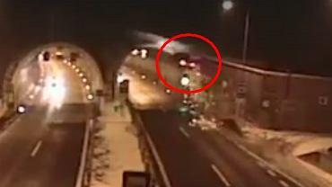 Dramatycznie wyglądający wypadek BMW na Słowacji