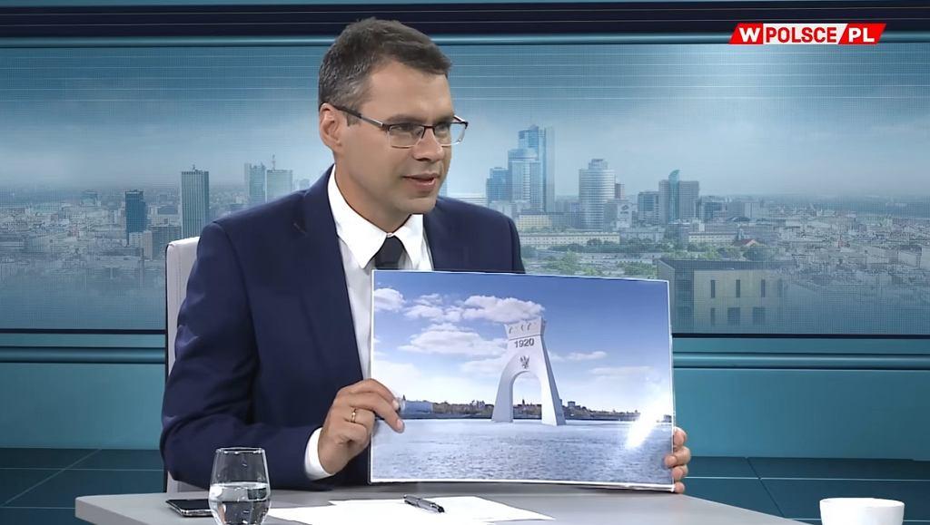 Łuk triumfalny z okazji rocznicy Bitwy Warszawskiej