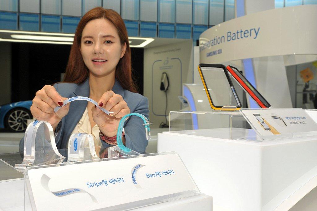 Elastyczna bateria Samsung
