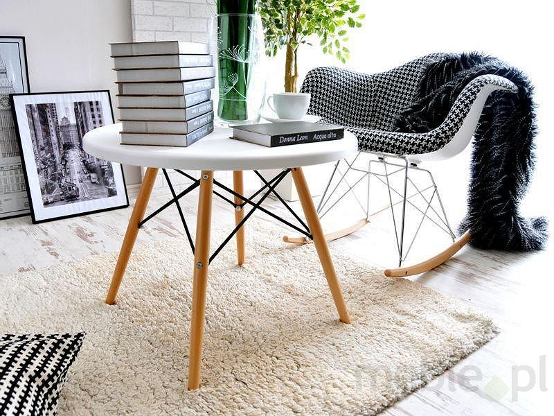 Fotel bujany MPA ROC tap pepitka designerski