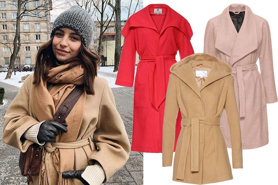płaszcze na zimę / mat. partnera