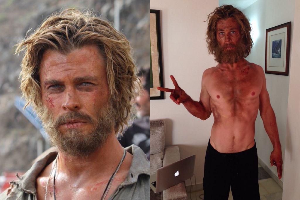 Chris Hemsworth przeszedł przez ekstremalną dietę do roli