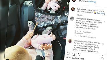 Olga Frycz podróżuje z dzieckiem. Udostępniła zdjęcie