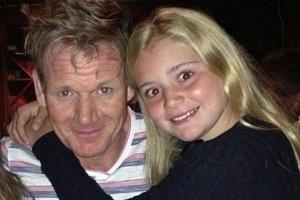 Gordon Ramsey z córką Tilly