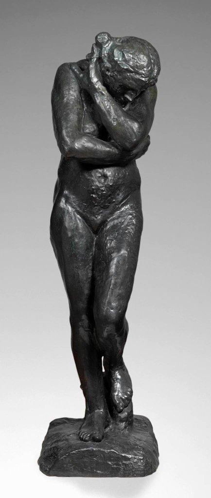 Wystawa 'Rodin/Dunikowski. Kobieta w polu widzenia' / Auguste Rodin, Ewa, 1881 (odlew ok. 1952), brąz, Musée Rodin, Paryż  Musee Rodin fot. Christian Baraja