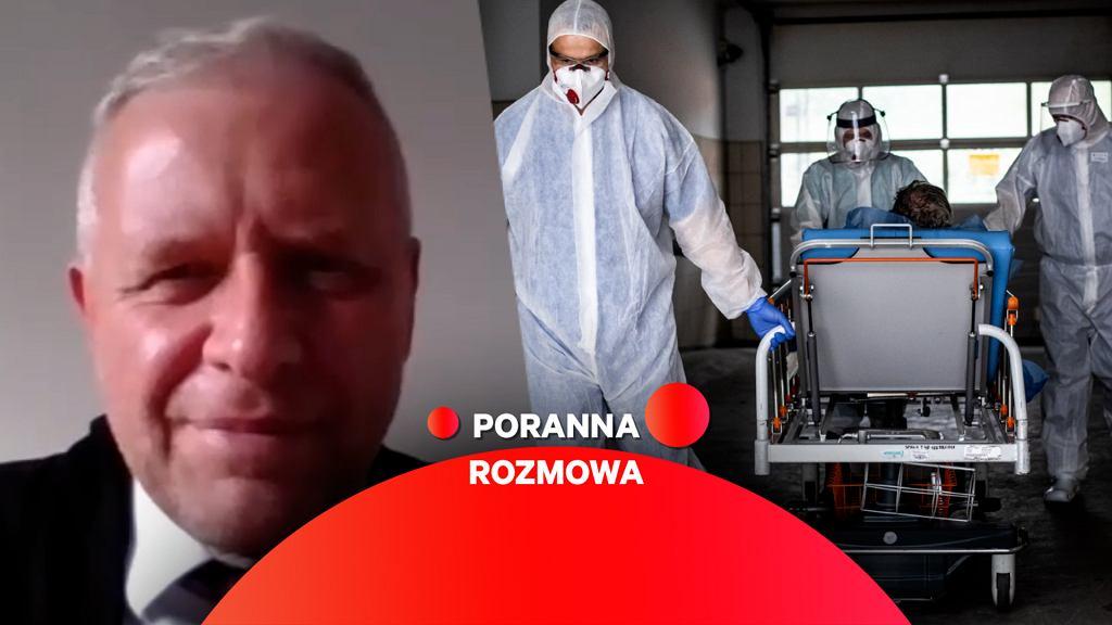 Dr Michał Sutkowski w Porannej Rozmowie Gazeta.pl