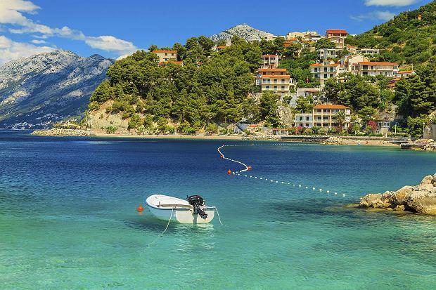 Większość chorwackich plaż jest kamienista lub żwirkowa