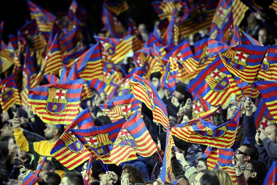 Kibice na Camp Nou. Barcelona, 6 lutego 2019
