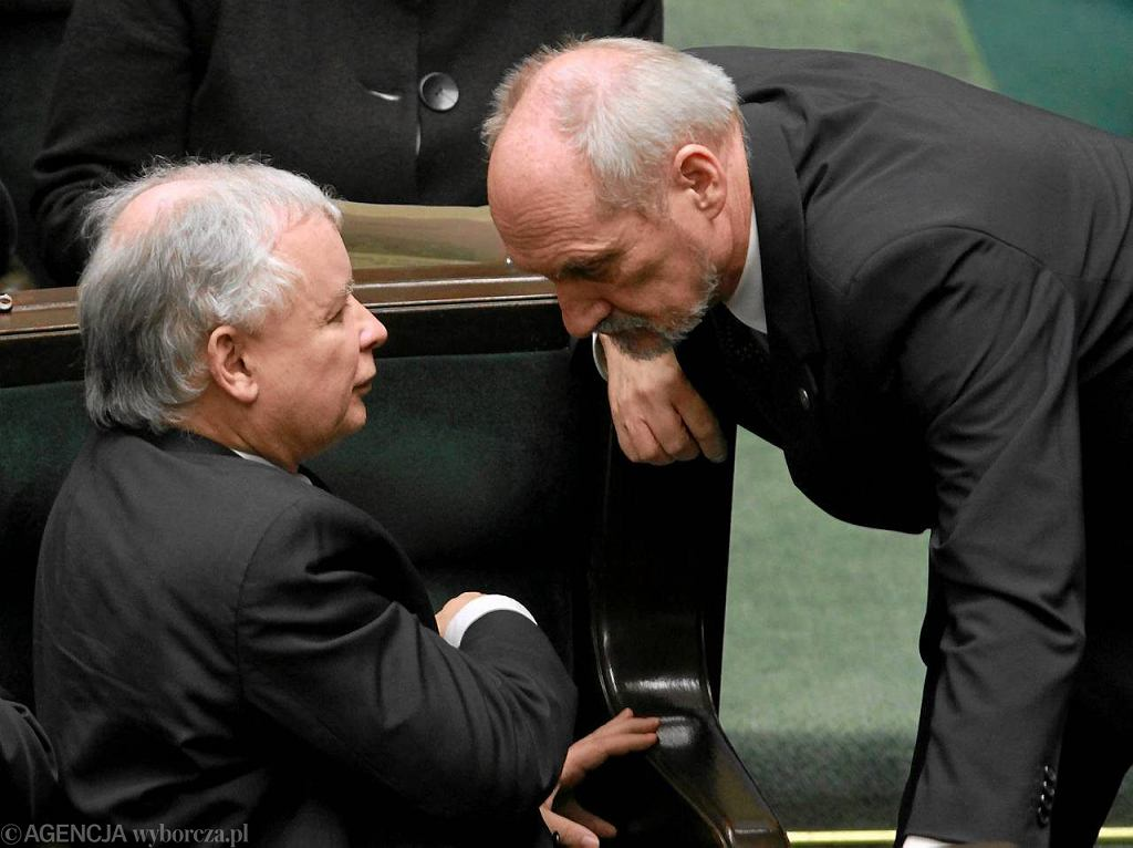 Kaczyński i Macierewicz