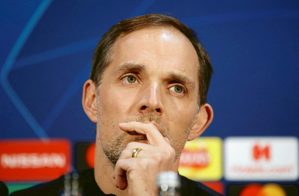 Thomas Tuchel, trener PSG
