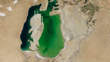 Jezioro Aralskie w 2000 roku