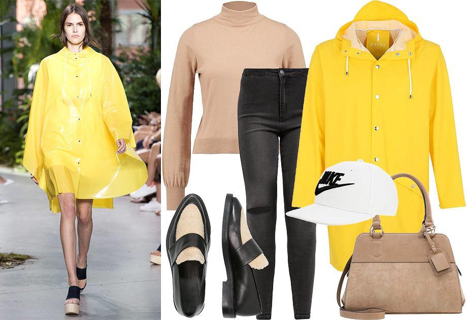 Żółty wczoraj i dziś - stylizacje