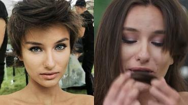"""""""Top Model"""". Olga Król odniosła się do swojej drastycznej metamorfozy. Zwraca się do... fryzjera"""