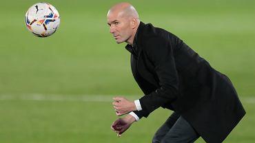 Trener Realu Madryt Zinedine Zidane