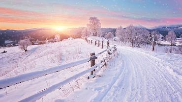 Kalendarzowa zima 2020 rozpoczyna się 22 grudnia. Zdjęcie ilustracyjne