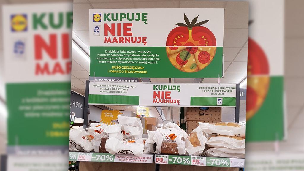 Post ze zdjęciem Lidlowej akcji, wykonanym przez autorkę bloga Opcja.Promocja, znalazł się na profilu akcji Foodsharing Wrocław i szybko zebrał mnóstwo pozytywnych reakcji oraz komentarzy
