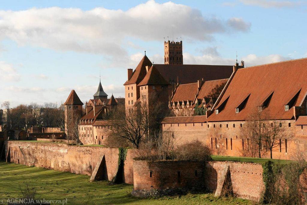 Zamek w Malborku. To jedyny obiekt z Pomorza na liście 20 muzeów z największą frekwencją  / Fot. Tomasz Waszczuk / Agencja Gazeta