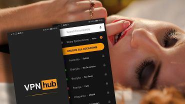 VPNhub - darmowa aplikacja VPN stworzona przez PornHub