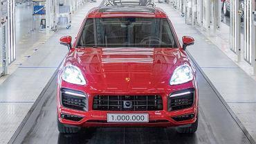Milionowy egzemplarz Porsche Cayenne