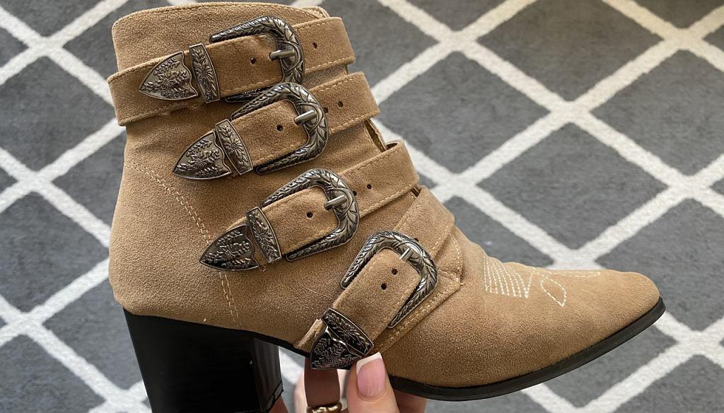W lumpeksie można znaleźć świetne buty za gorsze