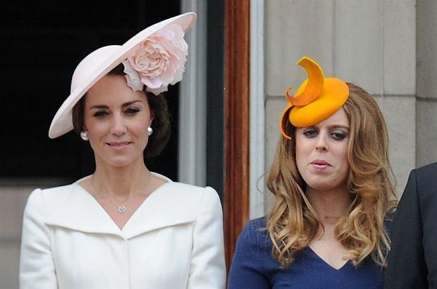Księżna Kate, księżniczka Beatrice rel