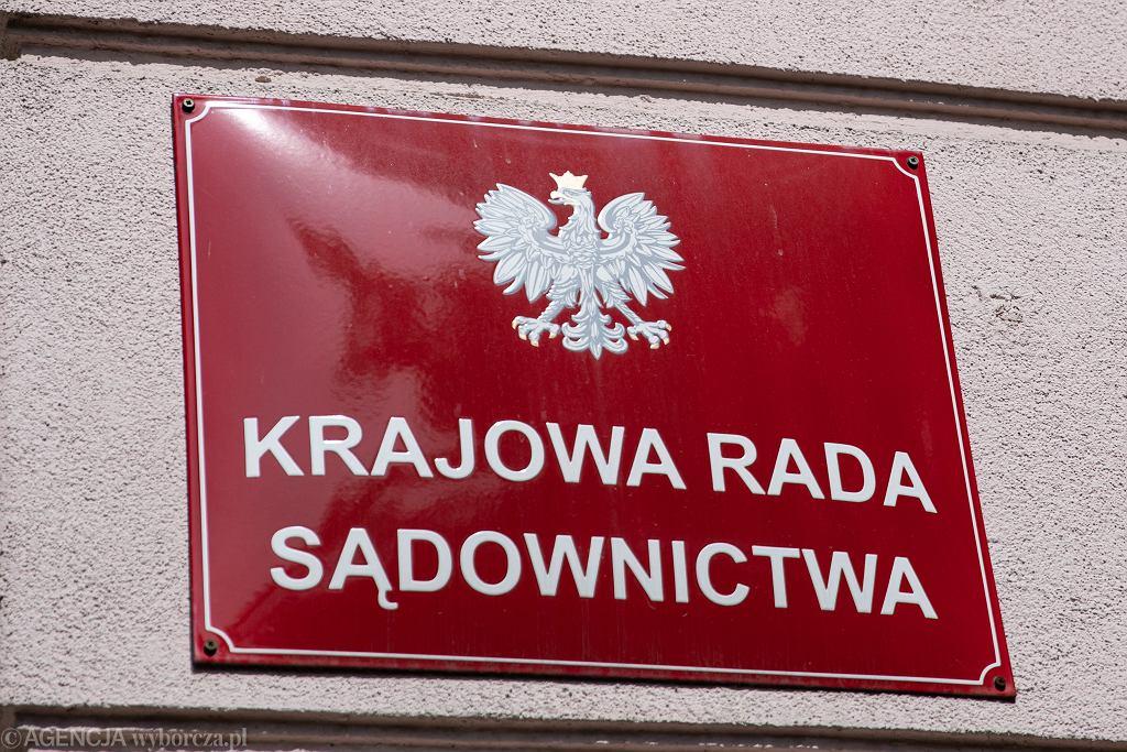 Krajowa Rada Sądownictwa (zdjęcie ilustracyjne)