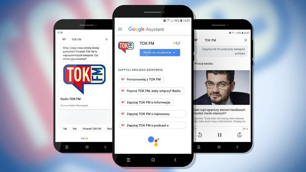 TOK FM w Asystencie Google