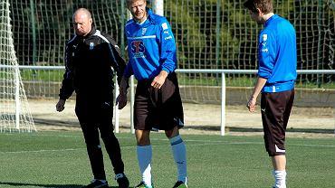 Paulus Arajuuri podczas treningu w Costa Ballena