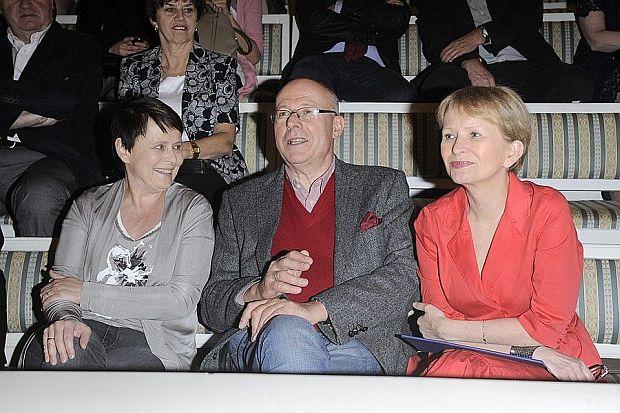 Sławomira Łozińska, Ilona Łepkowska, Czesław Bielecki