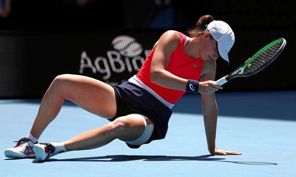 Australian Open. Iga Świątek w meczu IV rundy z Anett Kontaveit