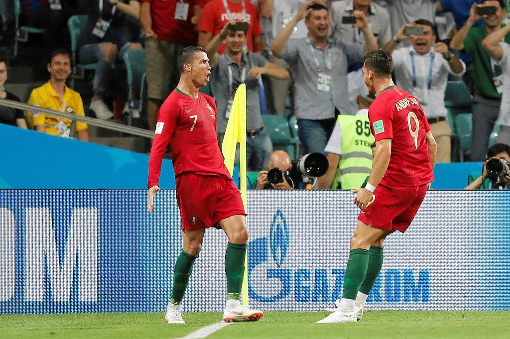 Dzięki hat-trickowi Cristiano Ronaldo Portugalia zremisowała z Hiszpanią 3:3
