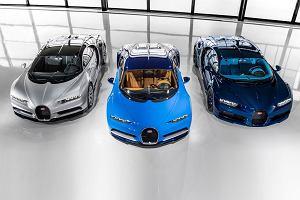 Bugatti Chiron bije rekordy sprzedaży
