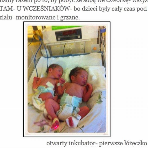 Antek i Franek, synowie Małgorzaty Lewińskiej