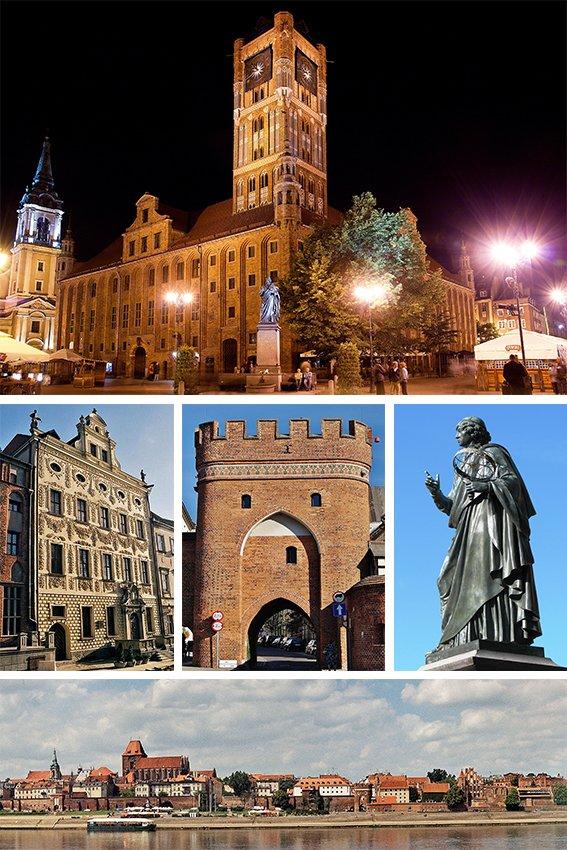 Toruń, źródło: Wikipedia