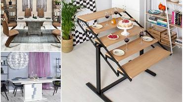 Stół rozkładany do salonu i kuchni.