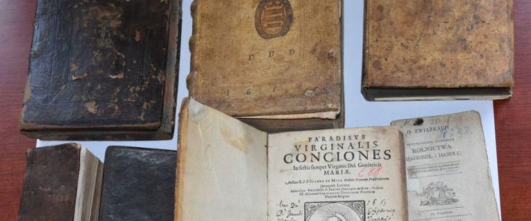 Ukradziono unikatowe starodruki warte 87 tys. zł. Znaleziono je na aukcji