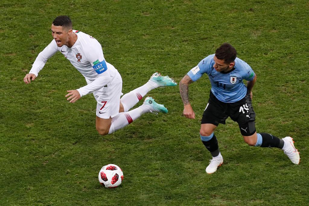 Mecz MŚ Urugwaj Portugalia