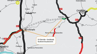 Trasa S5 - Ostróda - Grudziądz