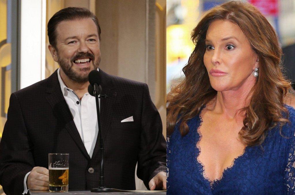 Ricky Gervais, Caitlyn Jenner