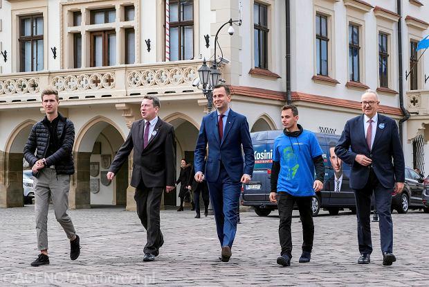 Wybory prezydenckie 2020. Władysław Kosiniak-Kamysz w Rzeszowie