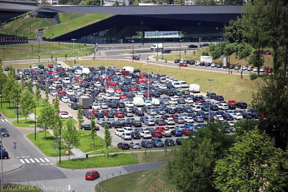 Parking e Strefie Kultury w Katowicach