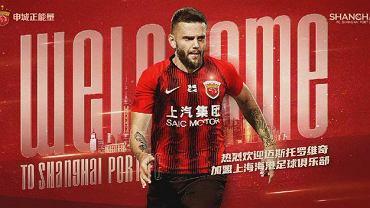 Ante Majstorović - najdroższy obcokrajowiec kupiony przez klub z ligi chińskiej w 2021 roku